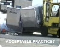 Policy on ULD and the Use of Forklifts