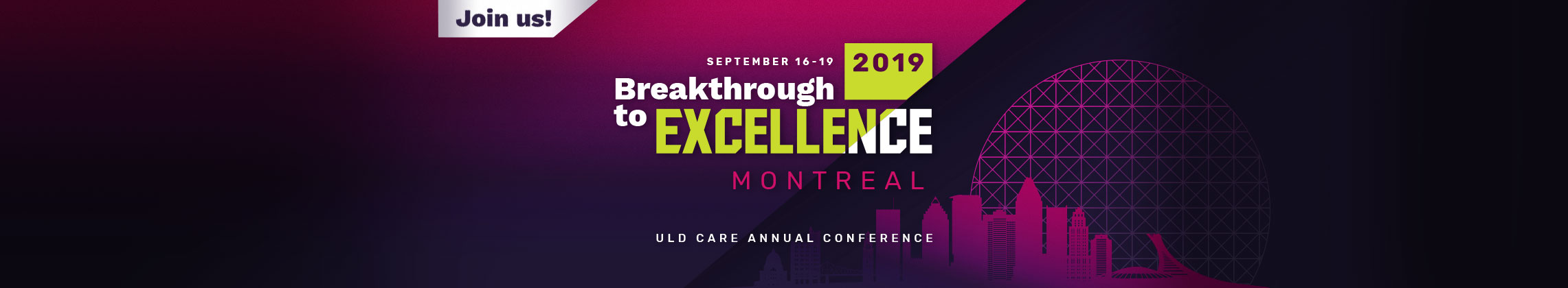 ULD CARE | 32th Conference | Montreal